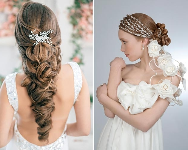 Braided Wedding Hairstyles With Grecian Goddess Look | Hairstyle Ideas Inside Grecian Wedding Hairstyles For Long Hair (View 10 of 15)