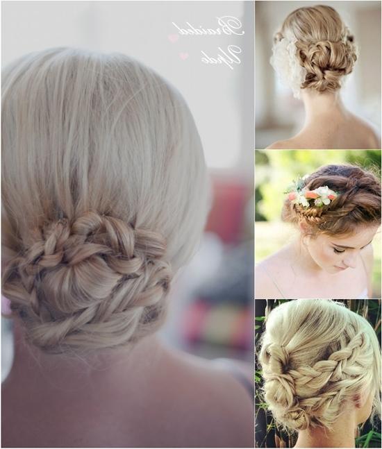 Braided Wedding Updosclip On Long Hair Extensions – For Wedding Updos For Long Hair With Braids (View 11 of 15)