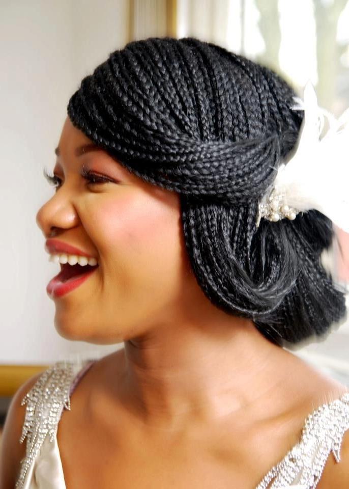 Bridal Box Braids Wedding Hairstyles Best Of Micro Braids Hairstyles Pertaining To Box Braids Wedding Hairstyles (View 2 of 15)