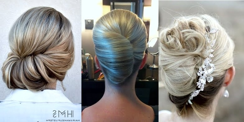 Bridal French Twist Hairstyles! With Roll Hairstyles For Wedding (View 2 of 15)
