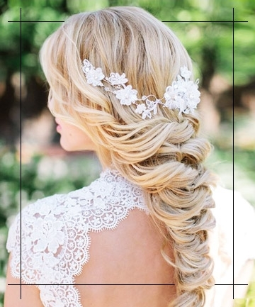Bridal Hair – 10 Wedding Hairstyles For Every Type Of Bride Inside Bridal Wedding Hairstyles (View 15 of 15)