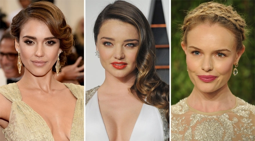 Bridal Hair: How To Wear It According To Your Face Shape Inside Wedding Hairstyles To Make Face Thinner (View 5 of 15)
