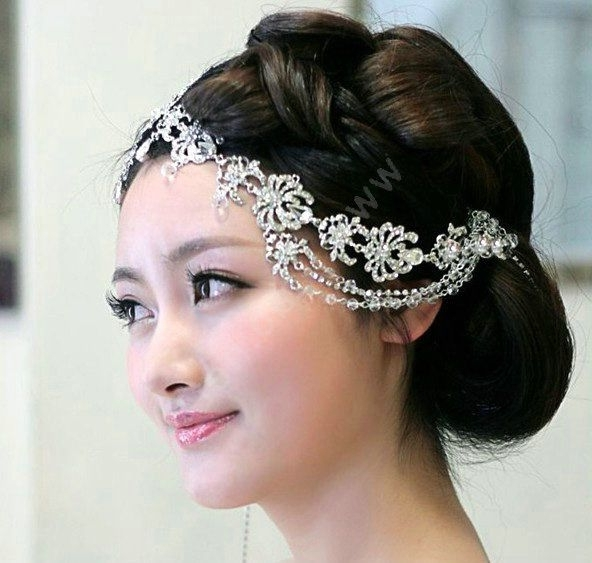 Bridal Hair Jewelry | Code 0000870212092013 Name Wedding Bride In Wedding Hairstyles With Hair Jewelry (View 7 of 15)