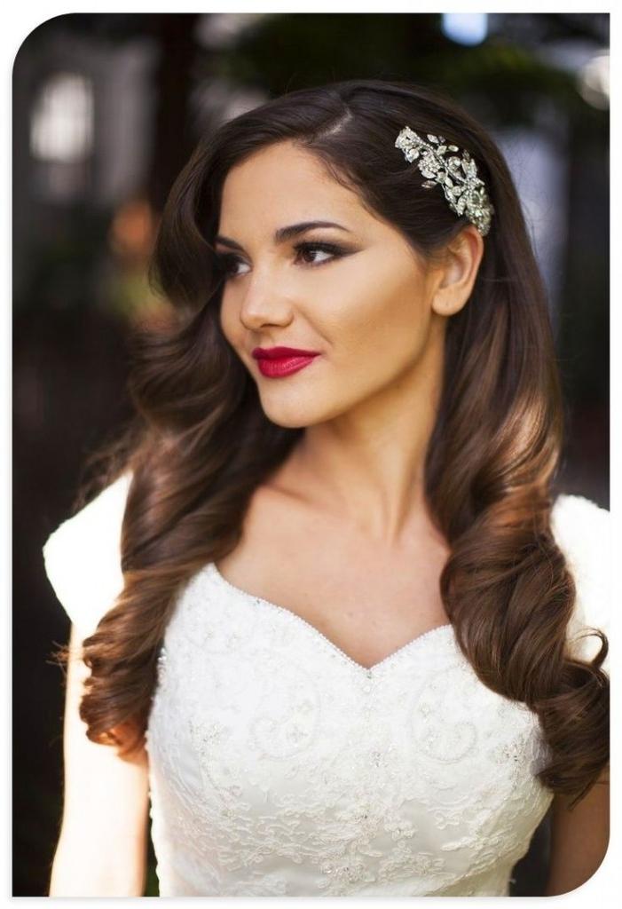 Bridal Hair – Wedding Hair – Grove Experience Hair Throughout Wedding Hairstyles Down With Tiara (View 12 of 15)