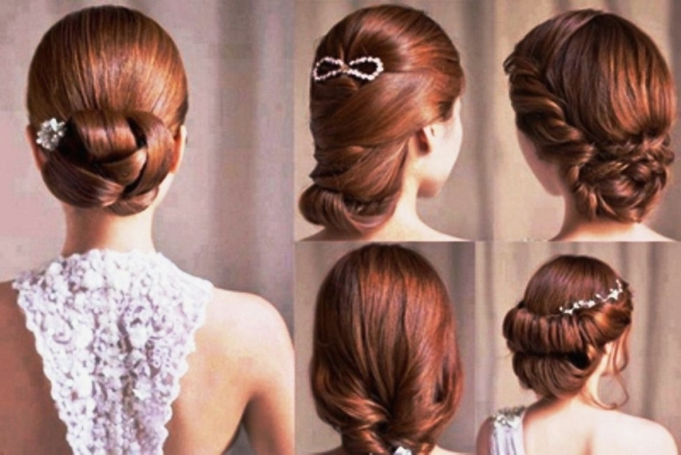 Bridal Hairstyle For Short Hair Indian Pertaining To Easy Indian Wedding Hairstyles For Short Hair (View 8 of 15)