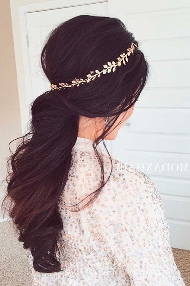 Bridal Hairstyles : 24 Stylish Easy Wedding Hairstyles ? You Can Throughout Wedding Hairstyles That You Can Do At Home (View 13 of 15)