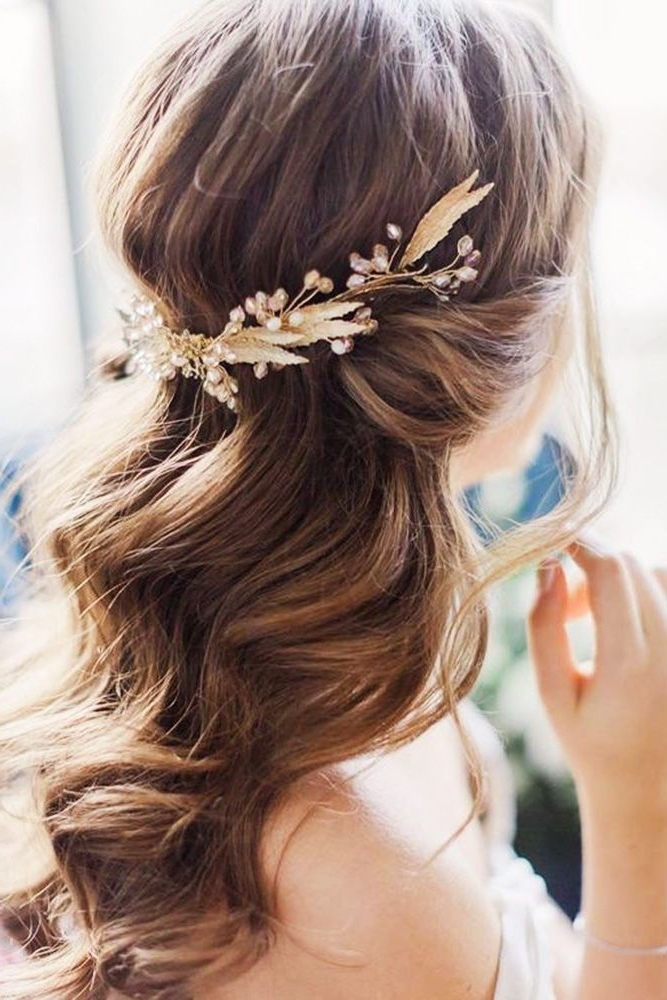 Bridal Hairstyles : 30 Beautiful And Simple Wedding Hairstyles Regarding Simple Wedding Hairstyles (View 6 of 15)