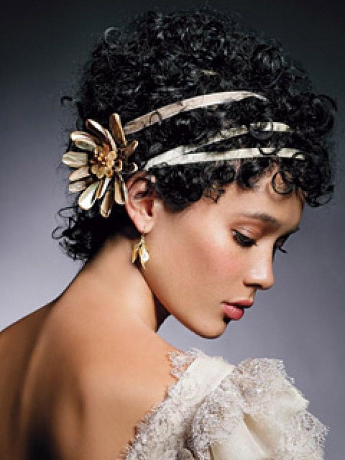 Bridal Hairstyles Black Brides | Brunette | Pinterest | Wedding In Wedding Hairstyles For Short Natural Black Hair (View 10 of 15)