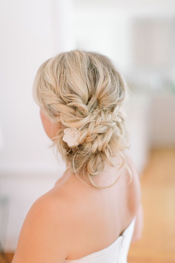 Bridal Hairstyles For Medium Length Hair – Google Search | Bridal In Beach Wedding Hairstyles For Shoulder Length Hair (View 5 of 15)