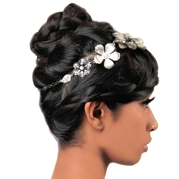 Bridal Hairstyles For Medium Length Hair – Hairstyle For Women & Man With Wedding Hairstyles For Medium Length With Black Hair (View 14 of 15)