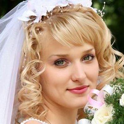Bridal Hairstyles For Medium Length Hair | Medium Length Wedding With Wedding Hairstyles For Shoulder Length Hair With Tiara (View 3 of 15)