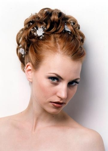 Bridal Hairstyles For Short Hair | Fashion In Wedding Throughout Wedding Hairstyles For Bridesmaids With Short Hair (View 5 of 15)