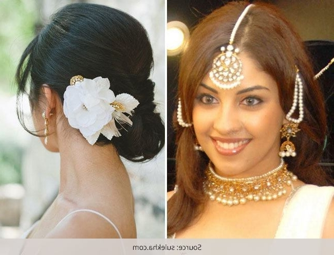 Bridal Hairstyles For Short Hair | Medium Hair Styles Ideas – 13675 For Easy Indian Wedding Hairstyles For Short Hair (View 9 of 15)