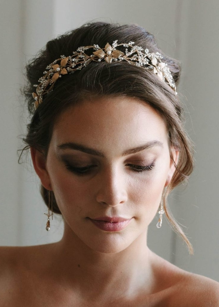 Bridal Hairstyles To Flatter Your Face Shape   Tania Maras Bridal Inside Wedding Hairstyles For Square Face (View 8 of 15)