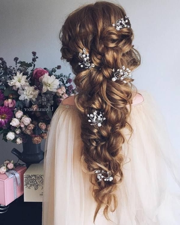 Bridal Hairstyles : Ulyana Aster Long Bridal Hairstyles For For Wedding Hairstyles For Very Long Hair (View 4 of 15)