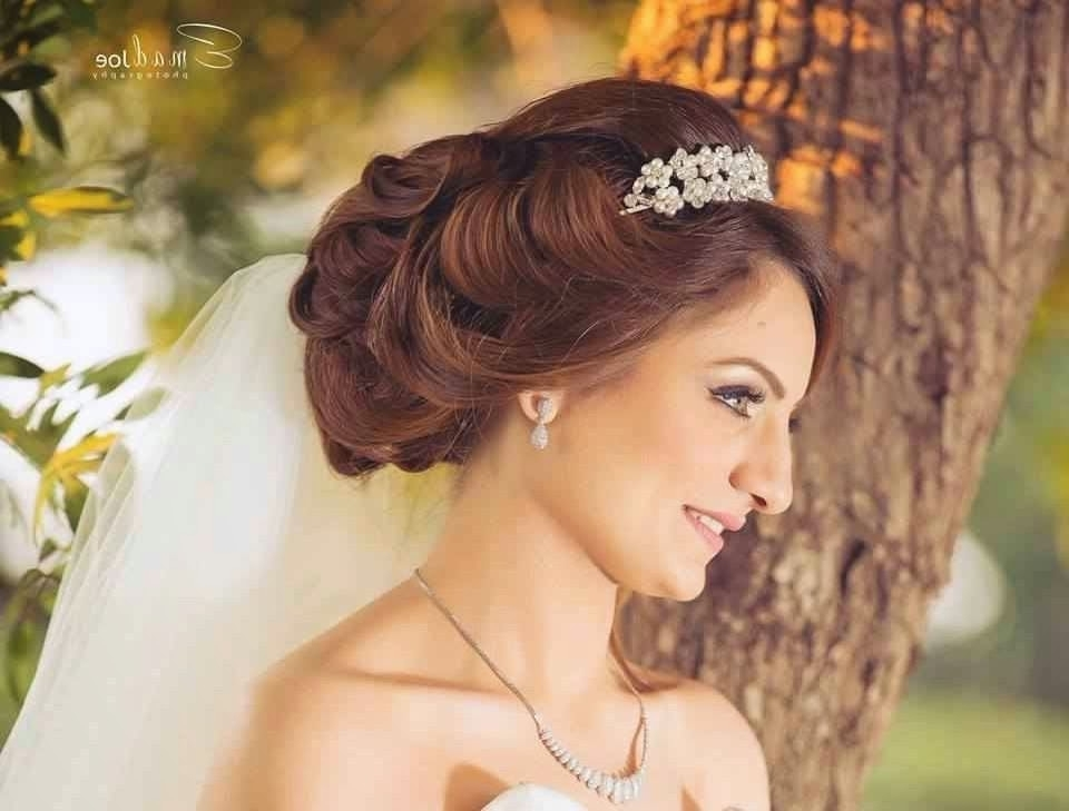 Bridal Hairstyles Updo For Wedding Day Syed | Medium Hair Styles Within Christian Bridal Hairstyles For Short Hair (View 15 of 15)