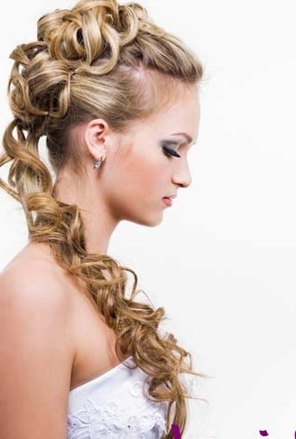 Bridal Hairstyles With Long Hair For Wedding | Trendyoutlook Inside Tied Up Wedding Hairstyles For Long Hair (View 5 of 15)