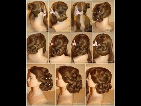 Bridal Juda Hair Style – Youtube Inside Wedding Juda Hairstyles (View 4 of 15)