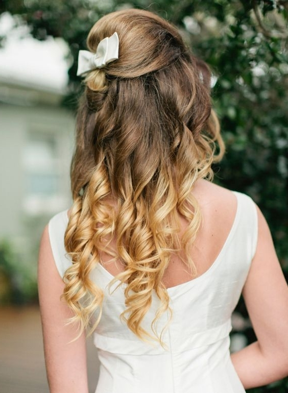 Bridal Ombre Hairstyles! In Wedding Hairstyles With Ombre (View 8 of 15)