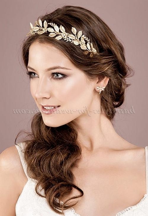 Bridal Tiara – Wedding Hairstyle With Tiara | Hairstyles For With Tiara Wedding Hairstyles (View 11 of 15)