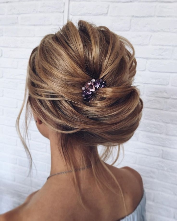Bridal Updo Hairstyles,hairstyles,updos ,wedding Hairstyle Ideas Regarding Messy Updos Wedding Hairstyles (View 13 of 15)