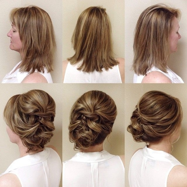 Bridal Updos For Short Hair – Hairstyles Ideas Intended For Easy Bridal Hairstyles For Short Hair (View 4 of 15)