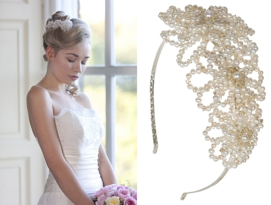 Bridal Veil, Headpiece Or Hair Accessory? | The Wedding Community Within Wedding Hairstyles Without Veil (View 10 of 15)