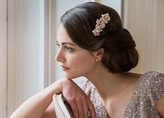 Bridal Wedding Hair Accessories | Glitzy Secrets In Wedding Hairstyles With Accessories (View 11 of 15)