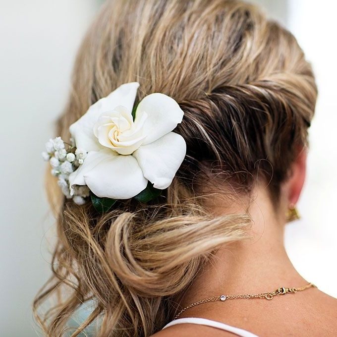 Brides: Bohemian Bridal Hairstyle Idea (View 7 of 15)