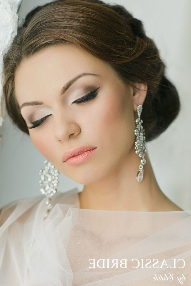 Brides Makeup Stunning Wedding Hairstyles Stunning Makeup Wedding For Wedding Hairstyles And Makeup (View 9 of 15)