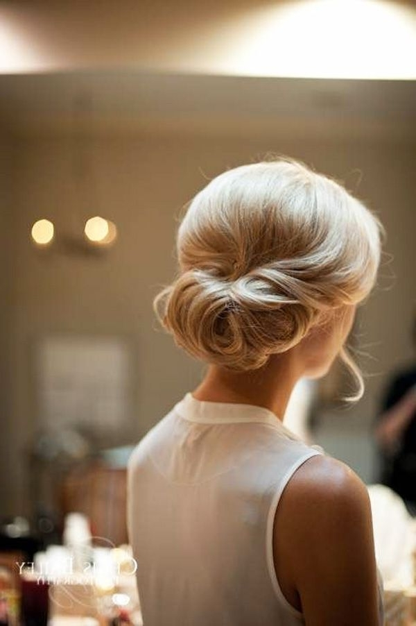 Brides Of Adelaide Magazine – Wedding Hair – Bridal Hair – Bun Intended For Roll Hairstyles For Wedding (View 8 of 15)