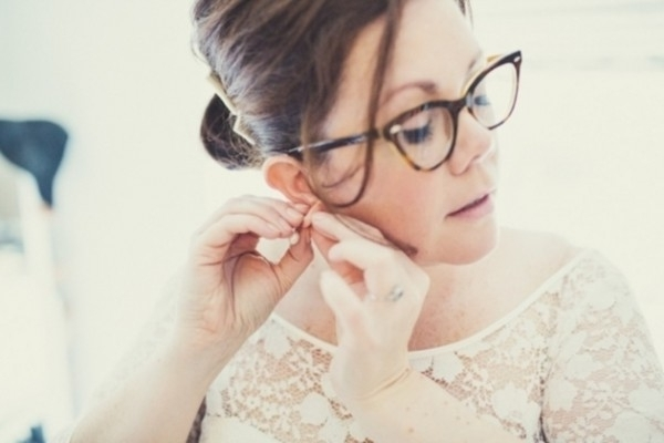 Brides With Glasses; How To Rock Specs At Your Wedding | Wedding Inside Wedding Hairstyles With Glasses (View 11 of 15)