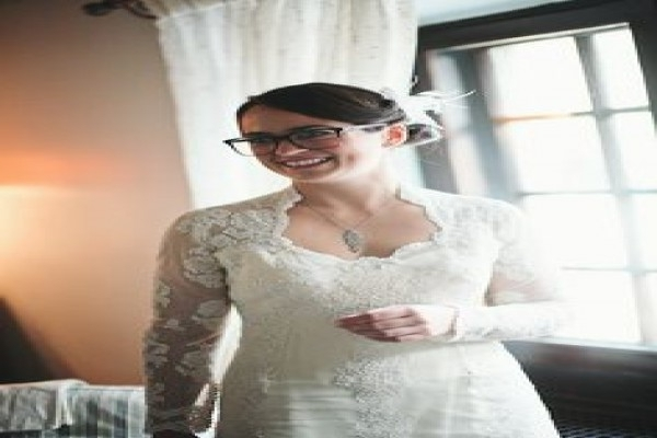 Brides With Glasses; How To Rock Specs At Your Wedding | Wedding Pertaining To Wedding Hairstyles With Glasses (View 13 of 15)