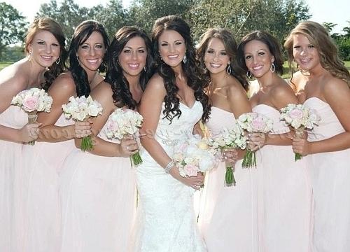 Bridesmaid Hairstyles – Bridesmaid Hairstyles | Hairstyles For Inside Wedding Hairstyles For Bride And Bridesmaids (View 14 of 15)