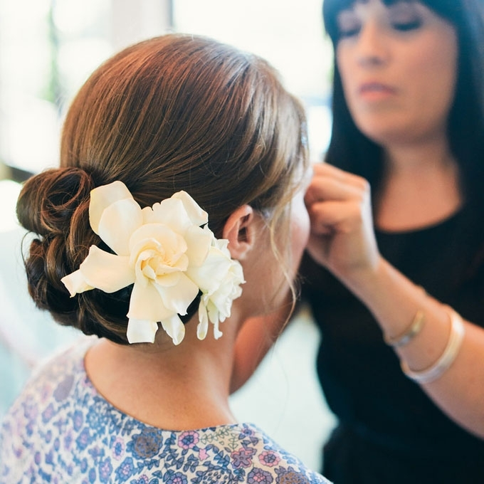 Bridesmaid Hairstyles For Straight Hair | The Holle Regarding Wedding Updos For Long Straight Hair (View 12 of 15)