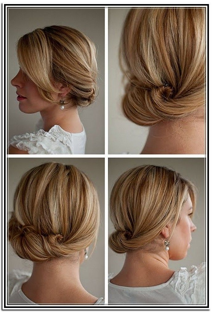 Bridesmaid Hairstyles Updos For Short Hair – The Newest Hairstyles Intended For Wedding Hairstyles For Short To Mid Length Hair (View 13 of 15)