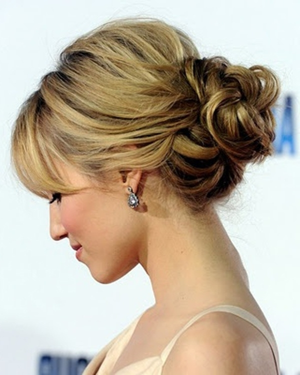 Bun It! These Chic Buns Would Be The Perfect Hair Do For Your With Wedding Bun Hairstyles (View 10 of 15)