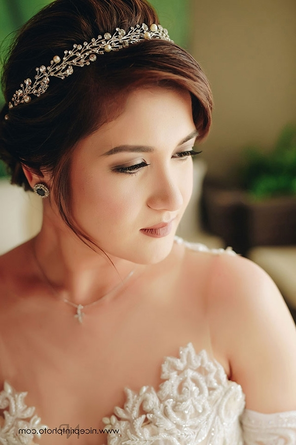 Camille Prats Wedding Photos | Philippines Wedding Blog Pertaining To Wedding Entourage Hairstyles (View 7 of 15)