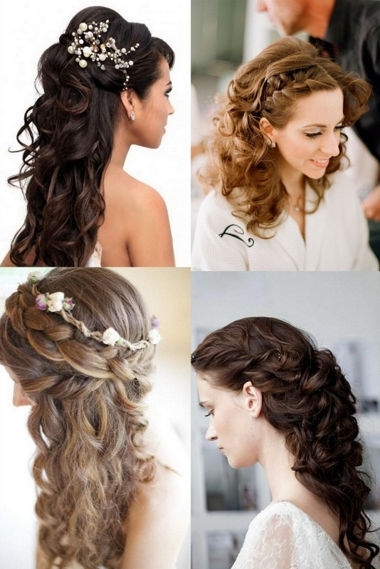 Changing Your Wedding Hairstyle Between The Ceremony And Reception Throughout Wedding Reception Hairstyles For Long Hair (View 14 of 15)