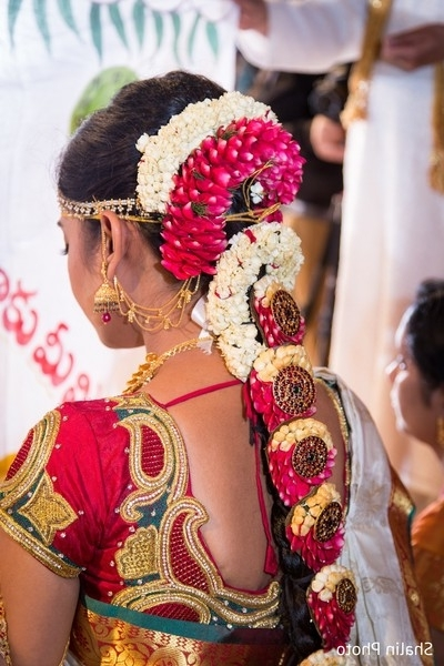 Chicago, Il South Indian Weddingshalin Photo | Maharani Weddings Within South Indian Wedding Hairstyles (View 9 of 15)