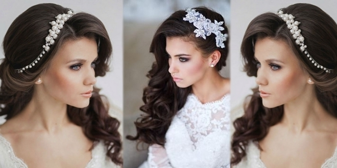 Choose A Hairpiece For Her Wedding Hairstyles Intended For Wedding Hairstyles With Hair Piece (View 3 of 15)