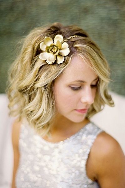Choosing The Perfect Wedding Hairstyle | Bridalguide For Wedding Hairstyles On Short Hair (View 6 of 15)