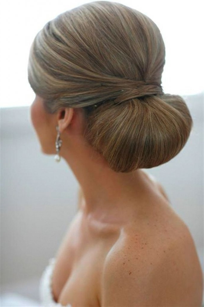 Choosing The Perfect Wedding Hairstyle | Bridalguide Pertaining To Chignon Wedding Hairstyles (View 7 of 15)