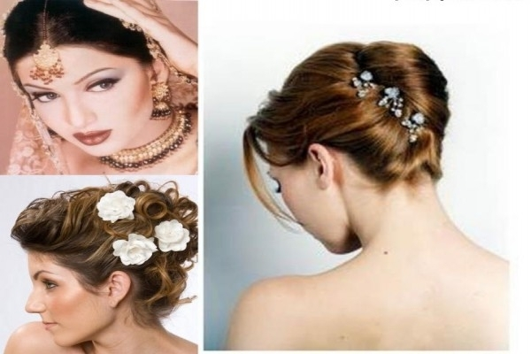 Christian Bridal Hairstyle For Short Hair: Fryzury Lubne Z Welonem . (View 12 of 15)