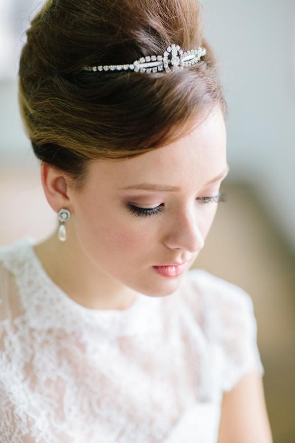 Classic Audrey Hepburn Bridal Look » Praise Wedding Community Regarding Audrey Hepburn Wedding Hairstyles (View 9 of 15)
