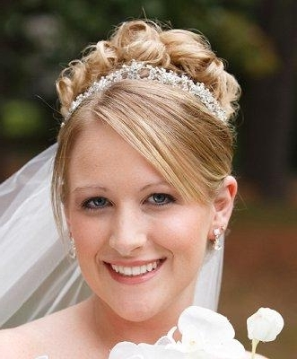 Classic Bridal Hairstyles For Long Hiar With Veil Half Up 2013 For With Regard To Classic Wedding Hairstyles For Short Hair (View 13 of 15)
