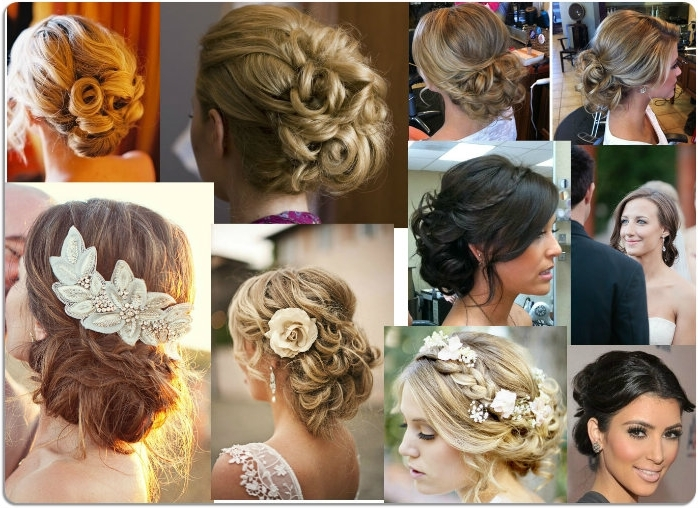 Classic Updo Hairstyles For Weddings Pertaining To Classic Wedding Hairstyles (View 4 of 15)