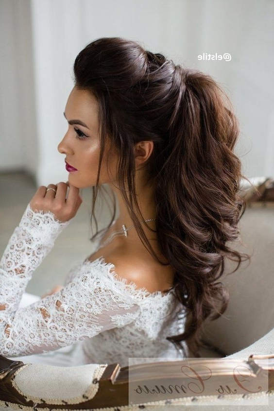 Classy And Simple Hairstyle Ideas For Thick Hair – Page 2 Of 4 With Simple Wedding Hairstyles For Long Hair Thick (View 8 of 15)