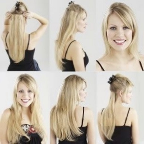 Clip In Hair Extensions For Your Wedding Day – Women Hairstyles Throughout Wedding Hairstyles For Short Hair With Extensions (View 10 of 15)