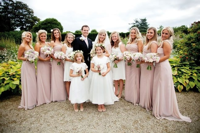 Complete Your Country Garden Wedding Look With The Wedding Ideas Intended For Garden Wedding Hairstyles For Bridesmaids (View 12 of 15)